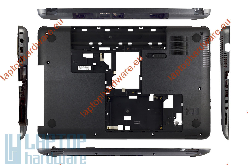 HP 650, 655, Compaq Presario CQ58 használt laptop alsó fedél, bottom case (708523-001)