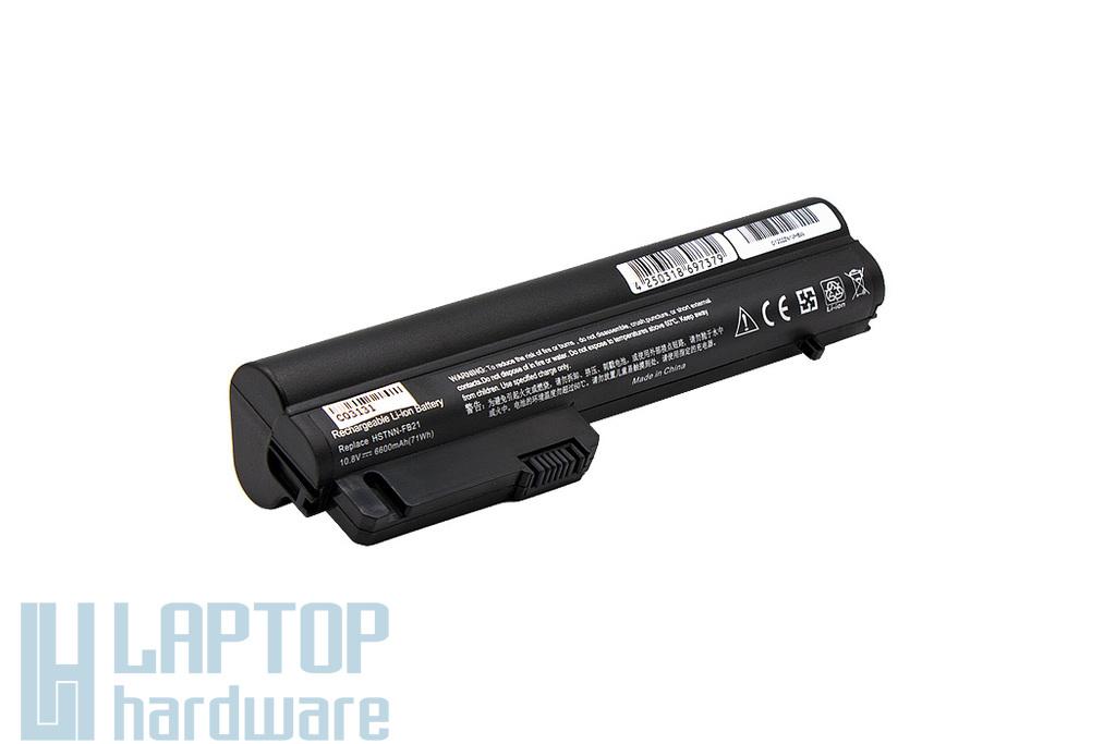 HP Compaq 2510p, 2530p, nc2400 helyettesítő új 9 cellás laptop akku/akkumulátor (HSTNN-FB21)