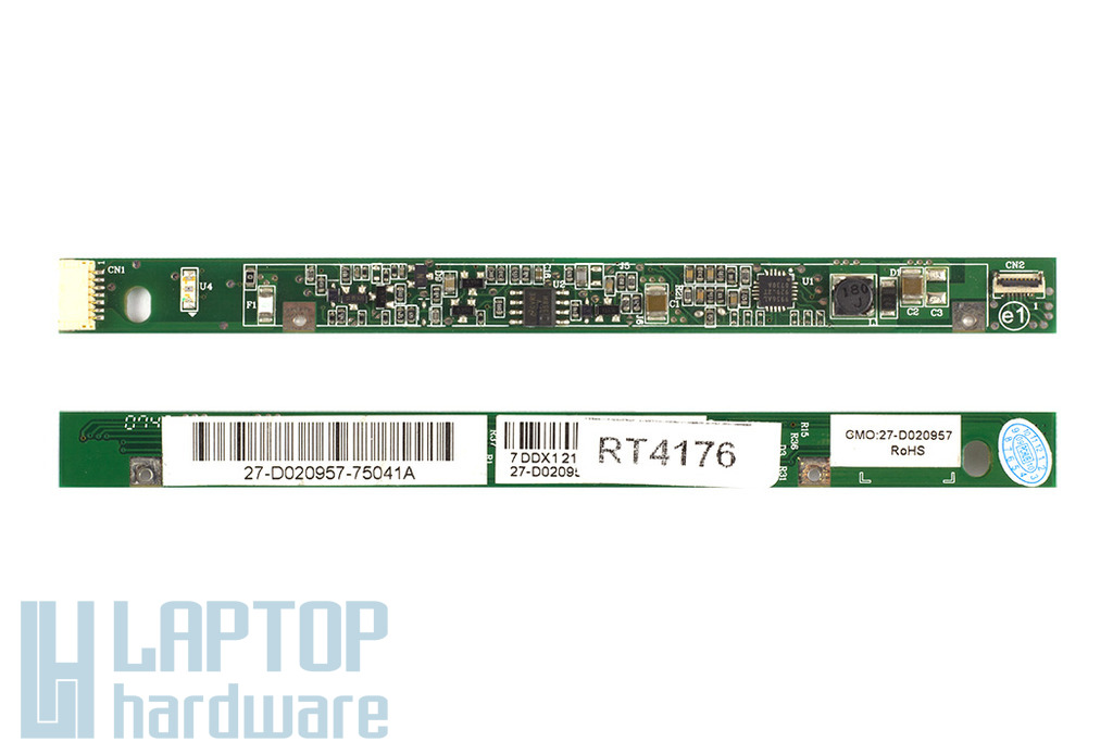 HP Compaq 2510p, 2533t  használt LCD kijelző inverter, 27-D020957