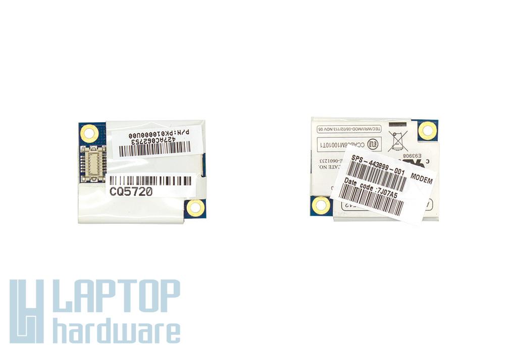 HP Compaq 2510p, 6910p, 8510p, 8710p használt laptop RD02-D330 modem kártya (443899-001)