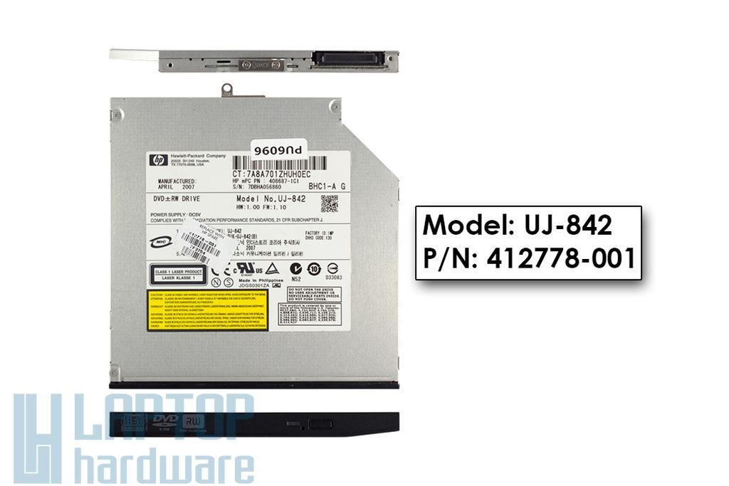 HP Compaq 2510p, NC2400 laptophoz használt DVD-író, 412778-001