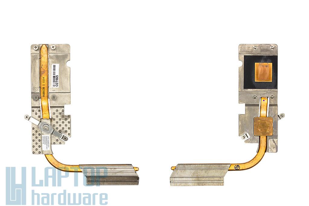 HP Compaq 515, 610, 615 laptophoz használt hőelvezető cső (UMA, AMD) (538456-001)