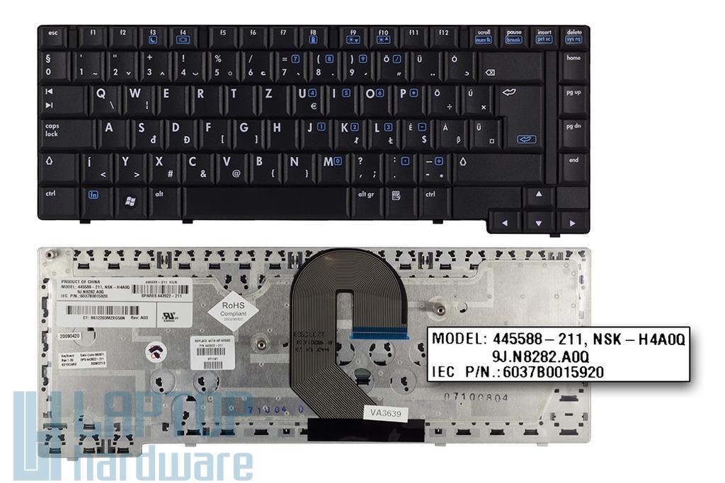HP Compaq 6510b, 6515b gyári új magyar laptop billentyűzet (SPS 443922-211)