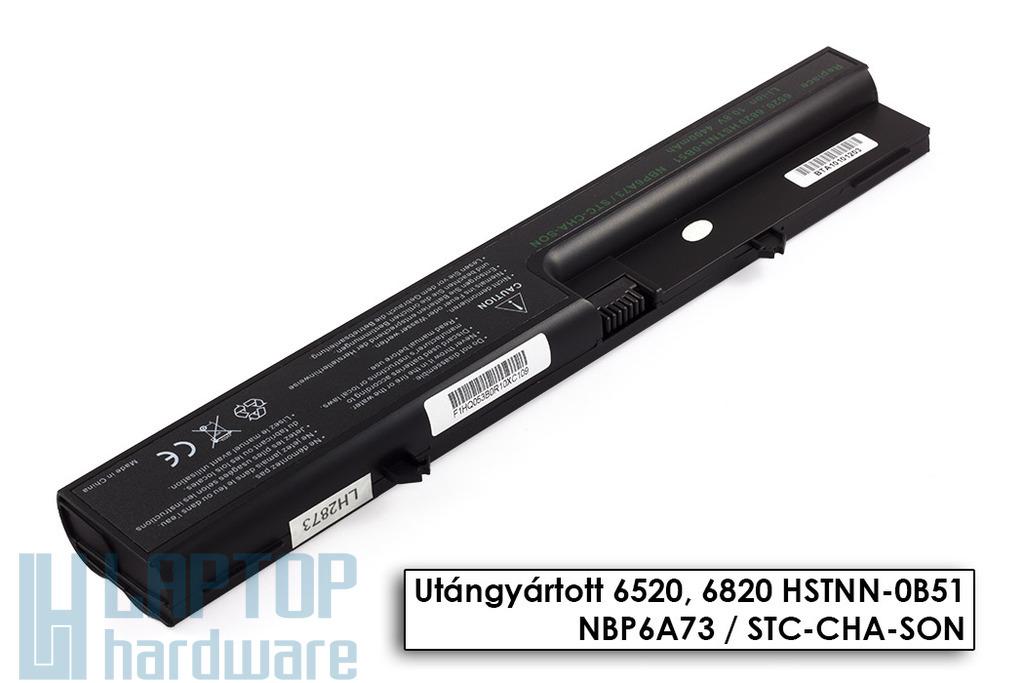 HP Compaq 6520, 540, 541 helyettesítő új 6 cellás laptop akku/akkumulátor (HSTNN-DB51)