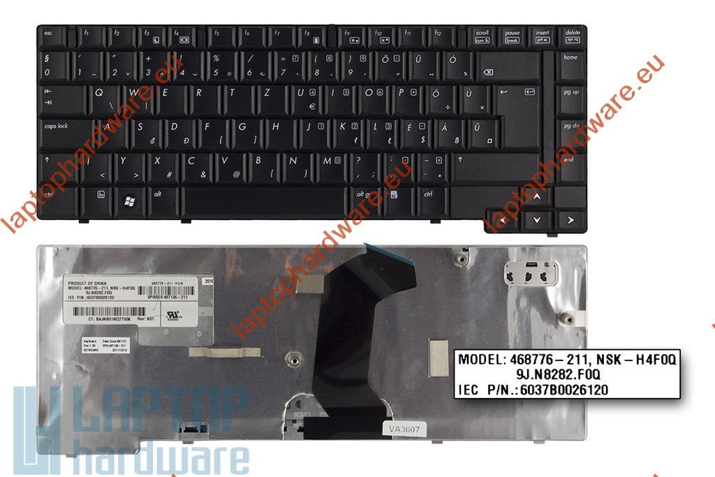 HP Compaq 6730b, 6735b használt magyar laptop billentyűzet (487136-211)