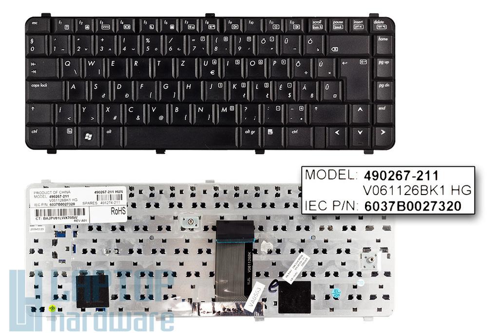 HP Compaq 6530s, 6730s, 6735s használt magyar laptop billentyűzet (490267-211)