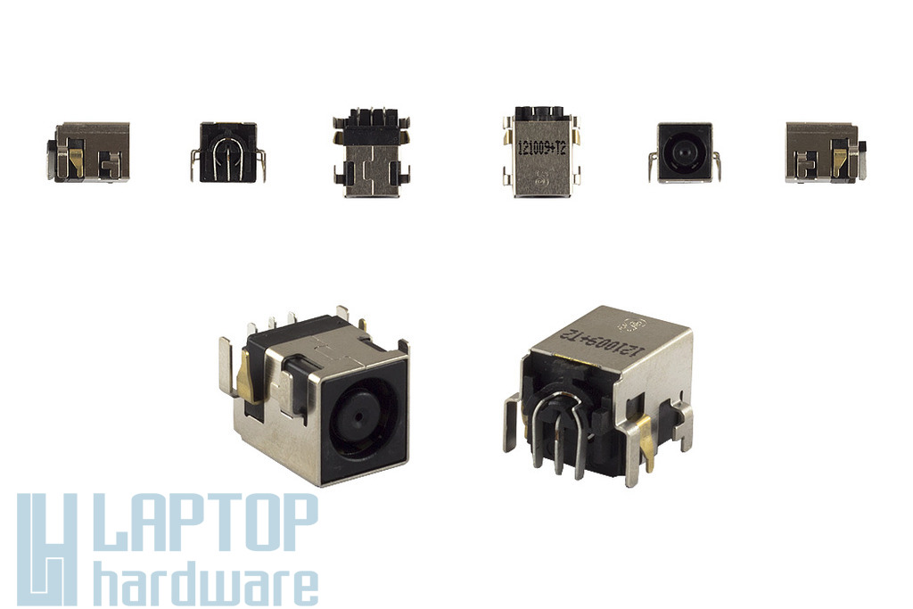 HP Compaq 6715S, 6730s, 6735s Center-Pin DC tápaljzat, DC-129