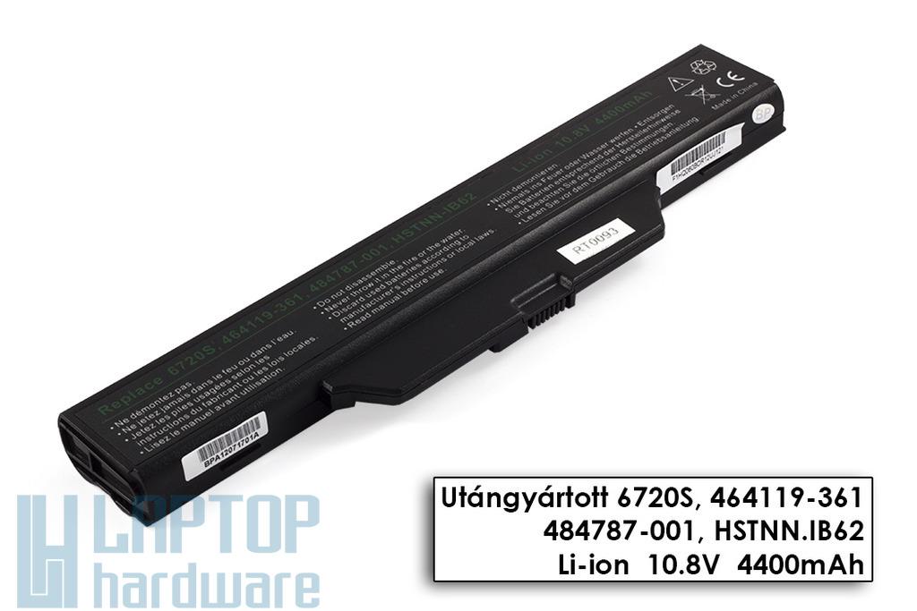 HP Compaq 6720s, 6730s, 6820s, 6830s, HP 550 helyettesítő új 6 cellás laptop akku/akkumulátor (HSTNN-I49C, HSTNN-I50C)