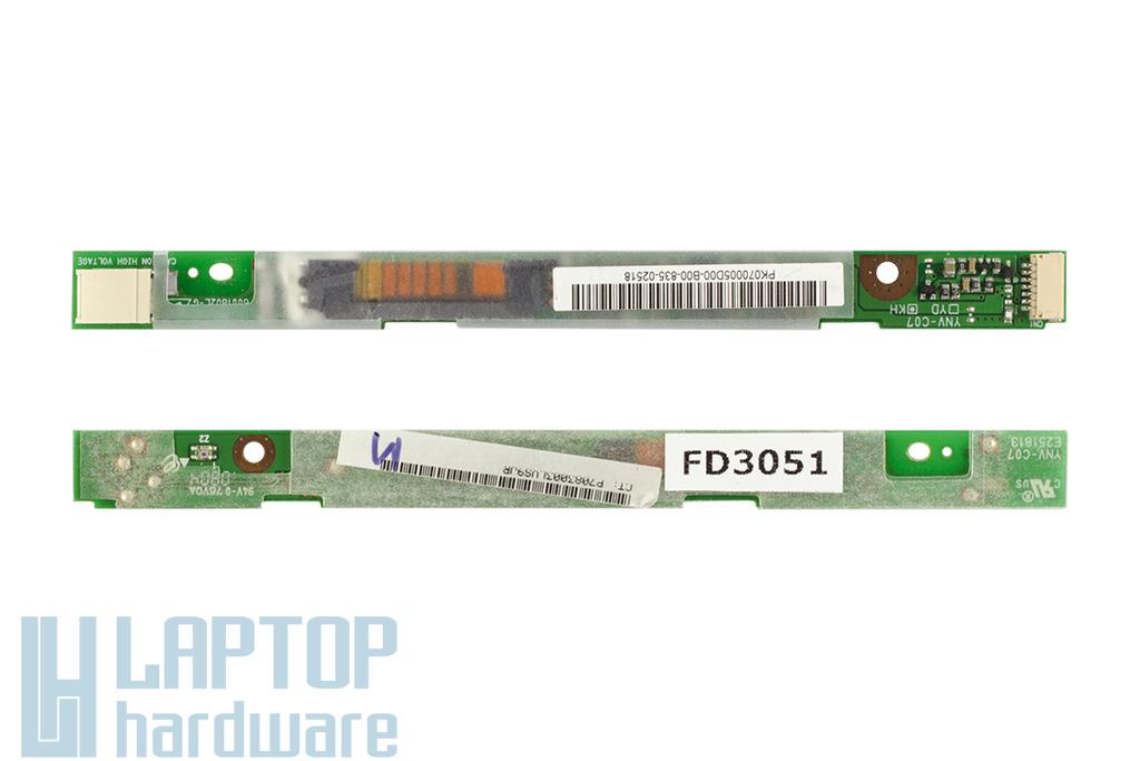 HP Compaq 6910p, HP Compaq nc6400 LCD inverter, 446418-001, YNV-C07