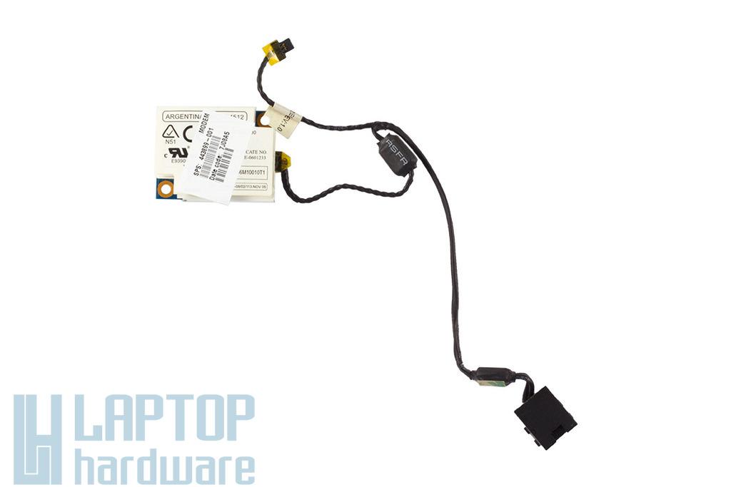 HP Compaq 6910p laptophoz használt Modem kártya vezetékkel csatlakozóval(443899-001)