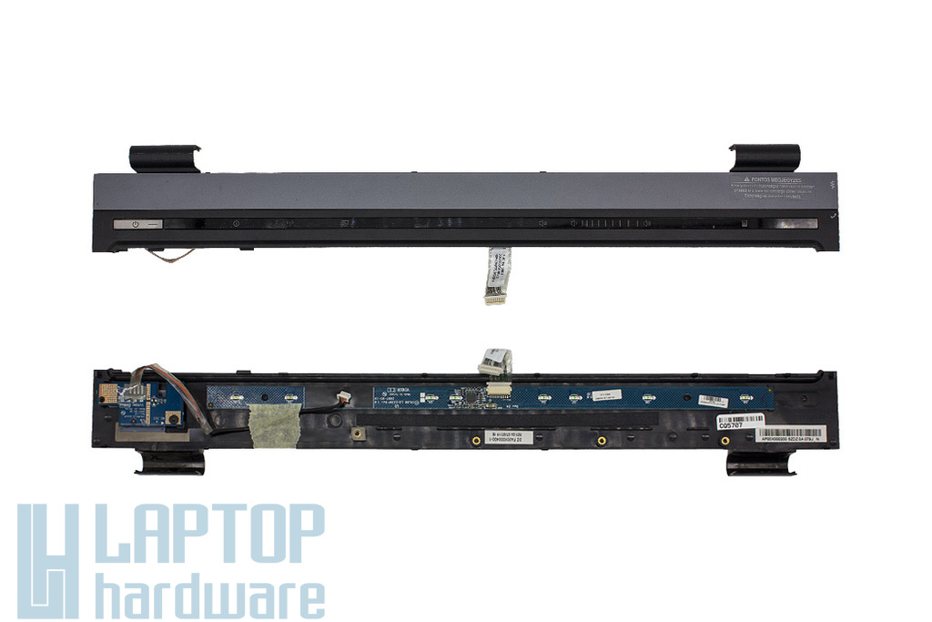 HP Compaq 8710p, 8710w használt laptop bekapcsoló fedél panellal (AP00X000200, FA00X000400-1, LS-333BP, LS-3331P)