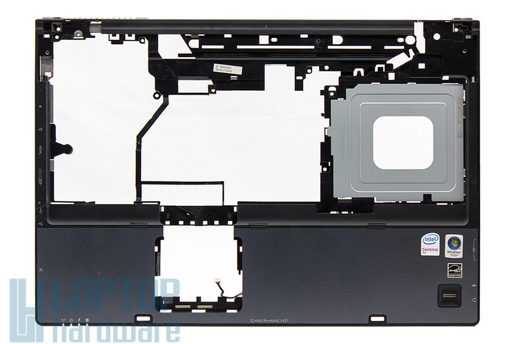 HP Compaq 8710p, 8710w használt laptop felső fedél ujjlenyomat olvasó modullal (450595-001)
