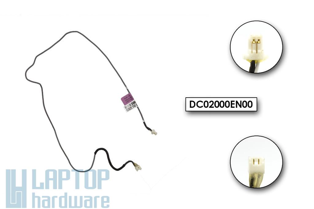 HP Compaq 8710p, 8710w használt laptop mikrofon kábel (DC02000EN00)