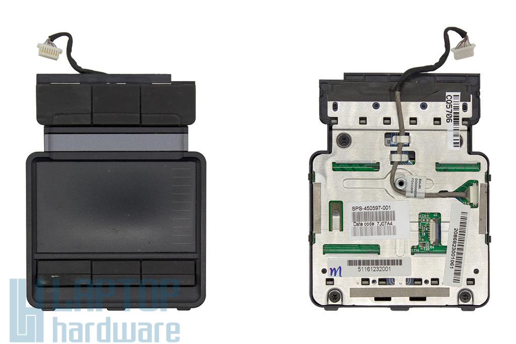 HP Compaq 8710p, 8710w használt laptop touchpad kábellel (450597-001)