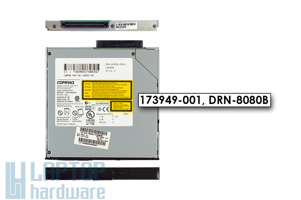 HP Compaq DVD olvasó (173949-001, DRN-8080B)