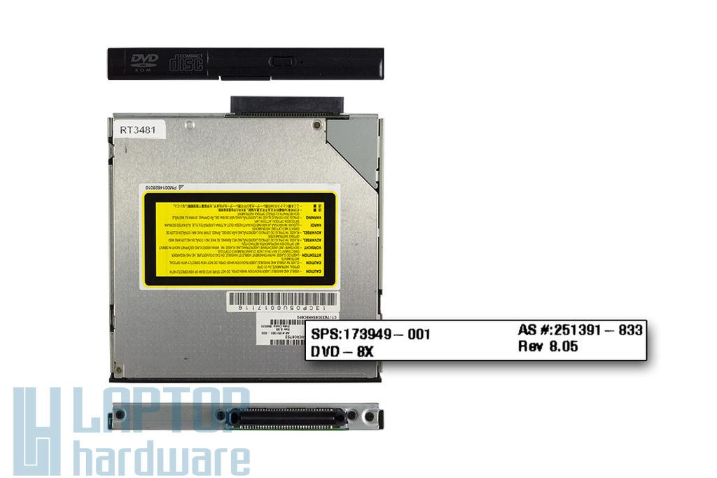 HP Compaq laptophoz használt DVD olvasó (251391-833, SD-C2612)