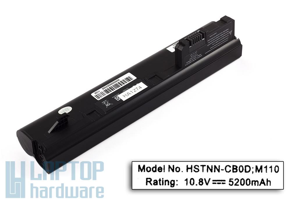 HP Compaq Mini CQ10-100, HP Mini 110 helyettesítő új 6 cellás laptop akku/akkumulátor (HSTNN-LB0C)