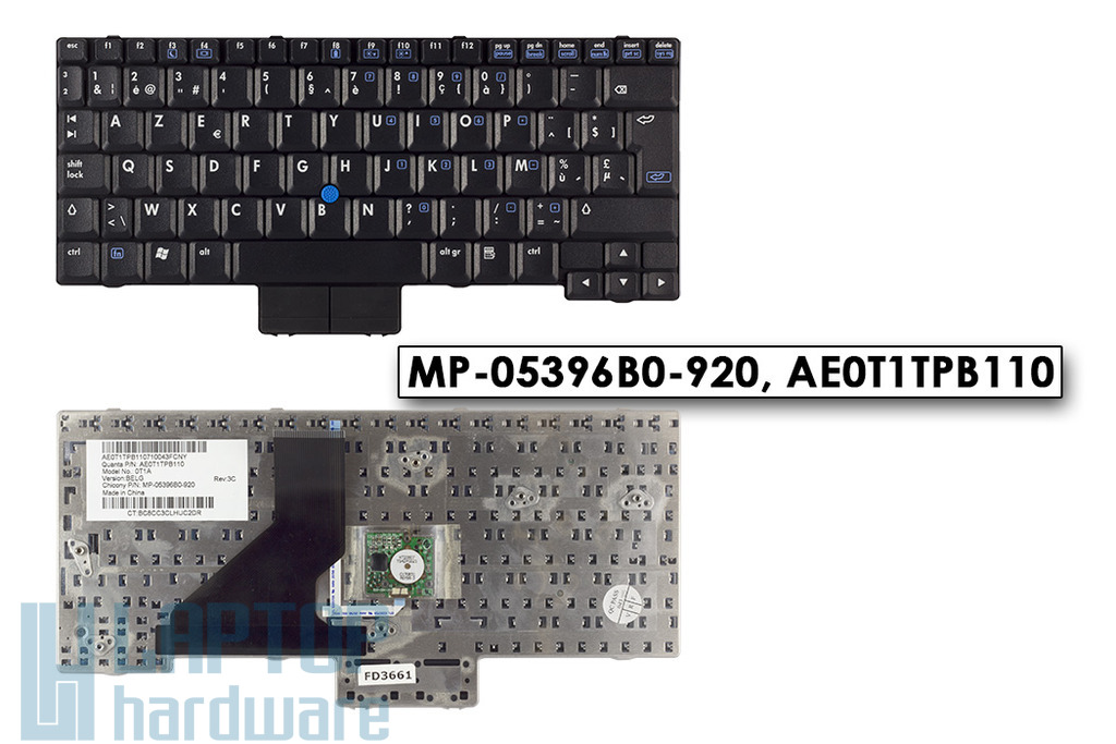 HP Compaq nc2400 gyári új belga laptop billentyűzet