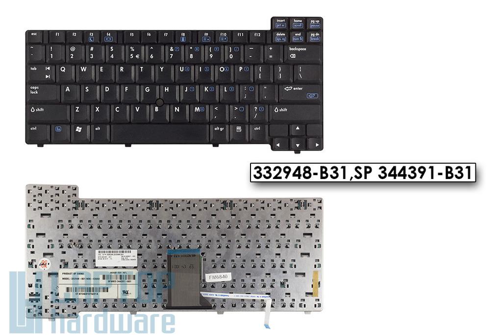 HP Compaq nc6000,nx5000,Presario V1000 laptophoz használt US angol billentyűzet (332948-B31,344391-B31)