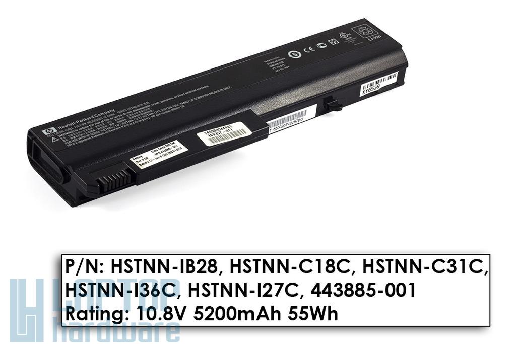 HP Compaq NC6100, NX5100 70%-os használt laptop akku/akkumulátor (HSTNN-IB28)