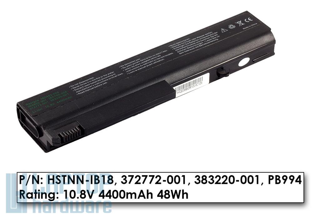 HP Compaq NC6100, NX5100 használt 85%-os helyettesítő laptop akku/akkumulátor (HSTNN-IB28)