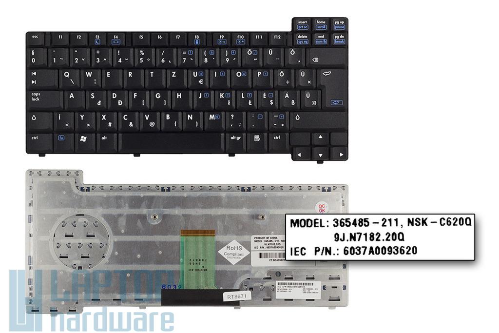 HP Compaq nc6110, nc6320, nx6110, nx6325 gyári új magyar laptop billentyűzet (378248-211)
