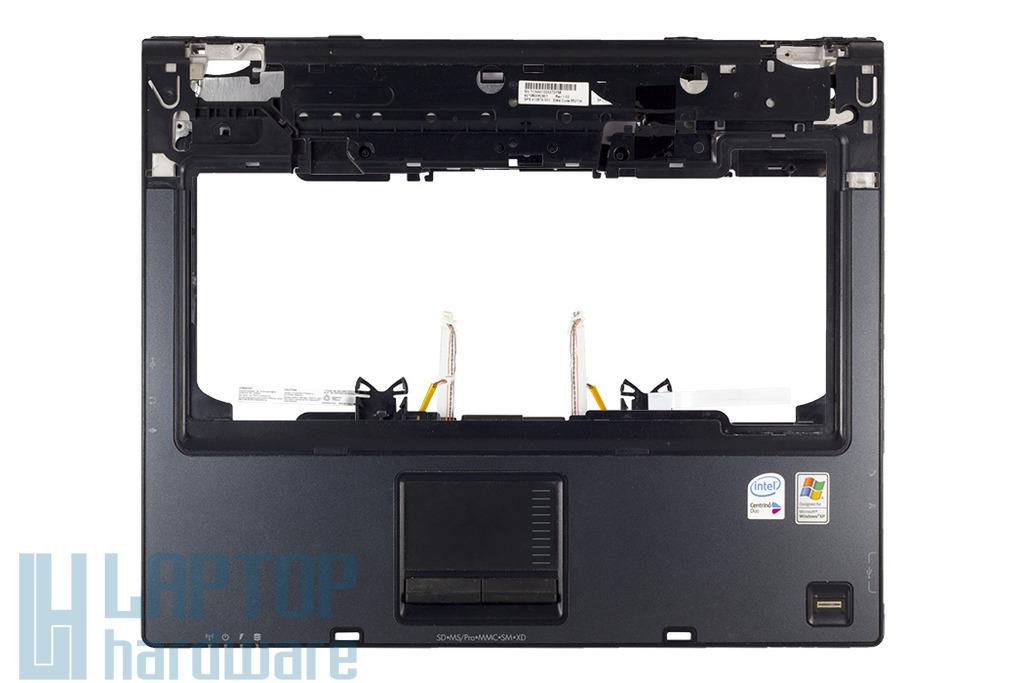 HP Compaq nc6320 használt felső fedél, touchpadel és ujlenyomat olvasóval, 413674-001