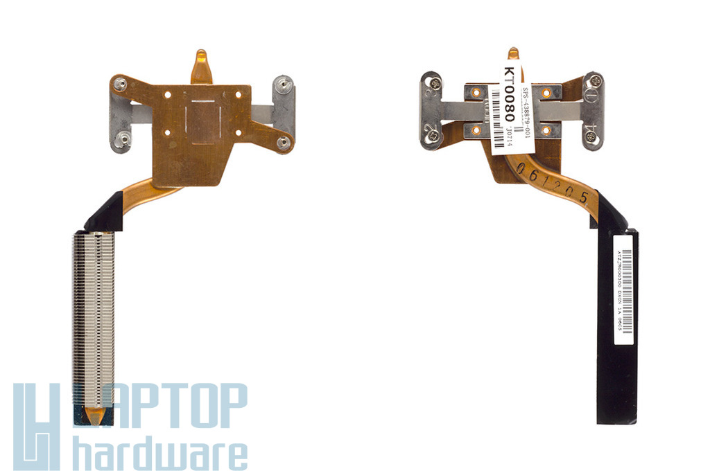 HP Compaq nw9440, nx9420 használt laptop hőelvezető cső (438879-001)