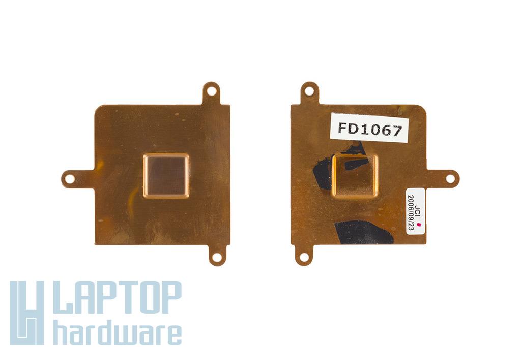 HP Compaq nx6110, nx6310 laptophoz használt hőelvezető lap