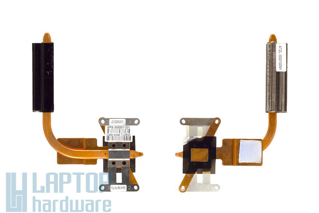 HP Compaq nx6115, nx6125 használt laptop hűtő, heat pipe (393567-001)