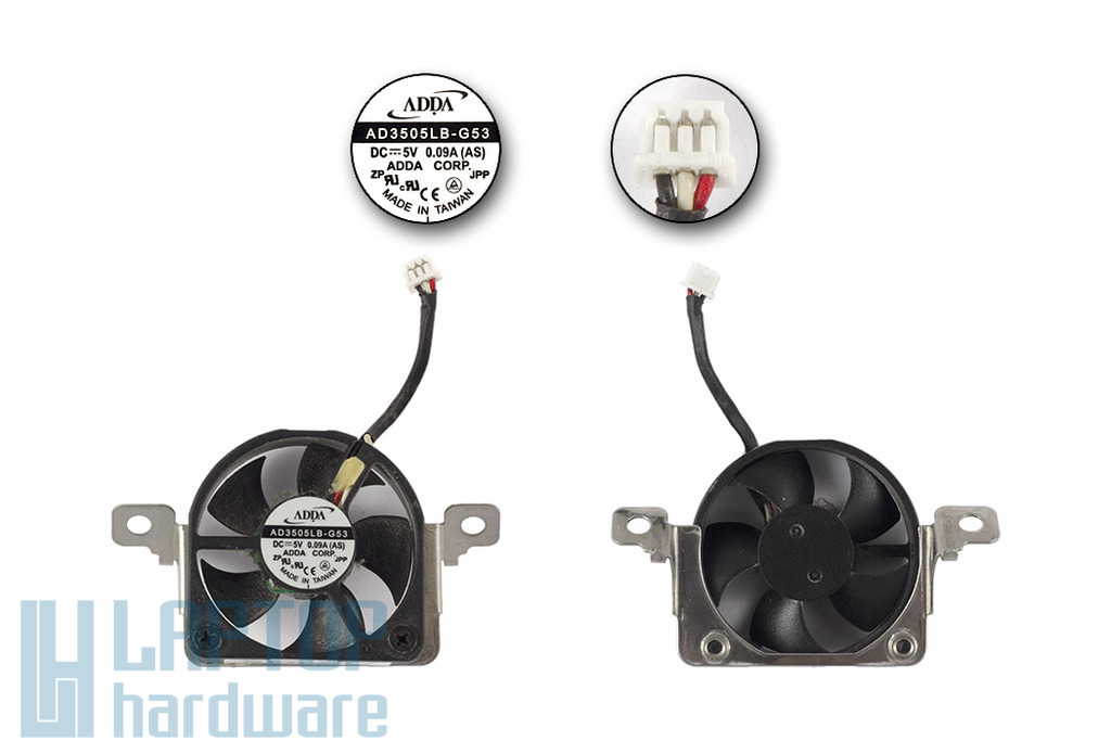 HP Compaq nx9010 használt laptop hűtő ventilátor (AD3505LB-G53, AD3505MB-G53)