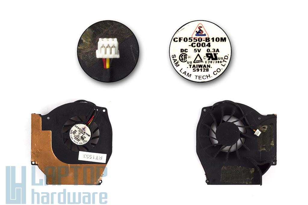 HP Compaq nx9010 használt laptop hűtő ventilátor (CF0550-B10M-C004)