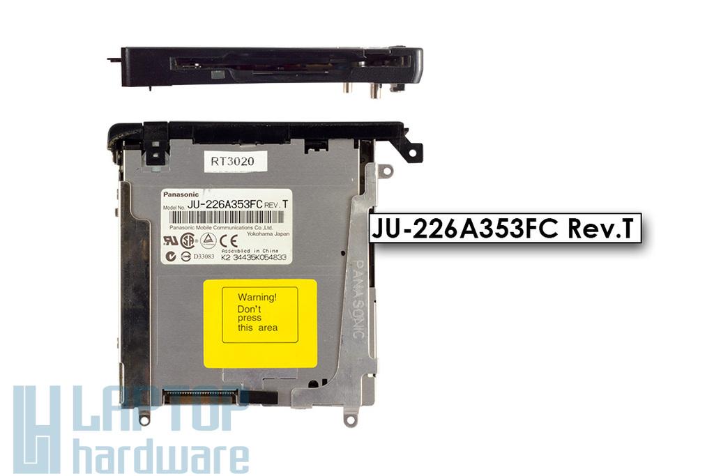 HP Compaq nx9010 laptophoz használt floppy(FDD) meghajtó(JU-226A353FC)