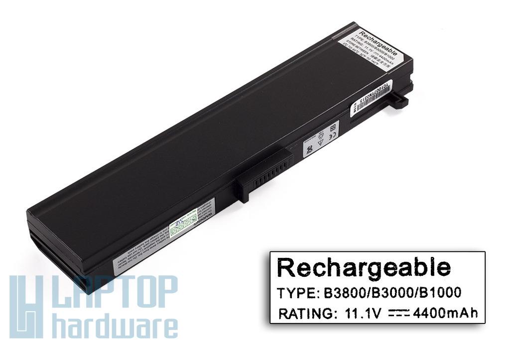 HP Compaq Presario B1000, B3000, B3800 helyettesítő új 6 cellás laptop akku/akkumulátor (HSTNN-A10C)