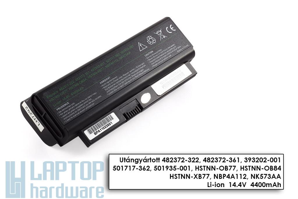 HP Compaq Presario CQ20-100, CQ20-300, 2230S helyettesítő új 8 cellás laptop akku/akkumulátor (HSTNN-I53C)