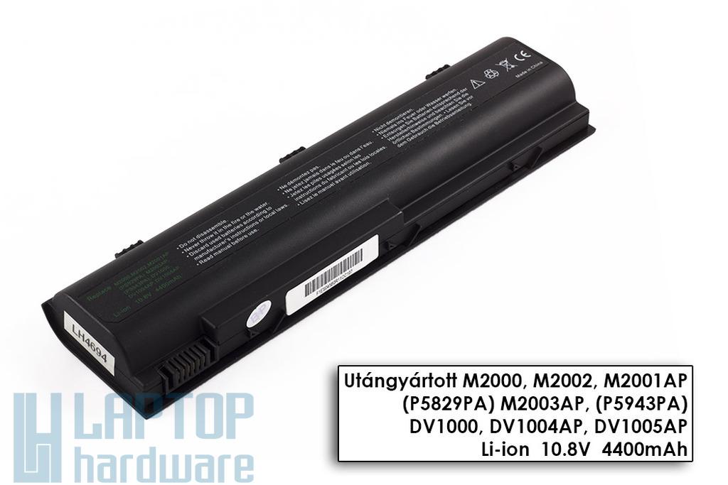HP Pavilion dv1000, dv4000 helyettesítő új 6 cellás laptop akku/akkumulátor (HSTNN-DB17)