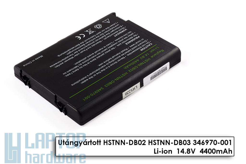 Compaq Presario R3000, HP Pavilion zv5000, nx9105 helyettesítő új 8 cellás laptop akku/akkumulátor (HSTNN-DB02)