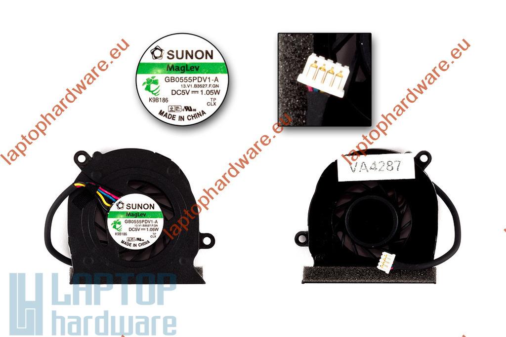 HP EliteBook 2530p használt laptop hűtő ventilátor (SPS 492568-001)
