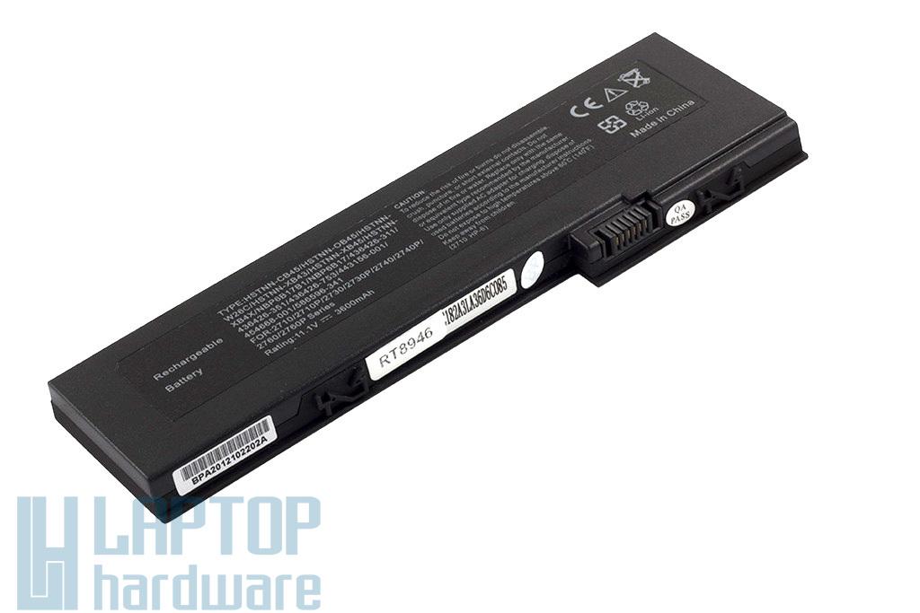 HP EliteBook 2710p, 2730p, 2740p, 2760p helyettesítő új 6 cellás laptop akku/akkumulátor  OT06 (HSTNN-XB4X)