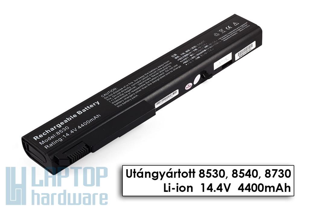 HP EliteBook 8530p, 8540p, 8730p helyettesítő új 8 cellás laptop akku/akkumulátor (458274-421)