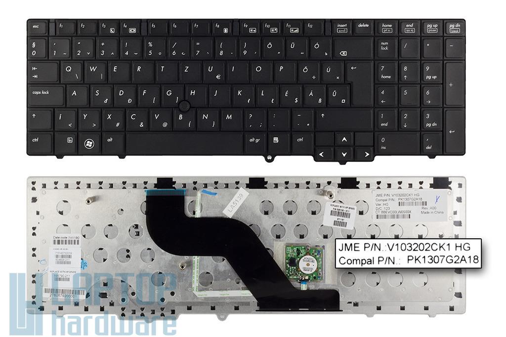 HP EliteBook 8540p, 8540w gyári új magyar laptop billentyűzet (595790-211)