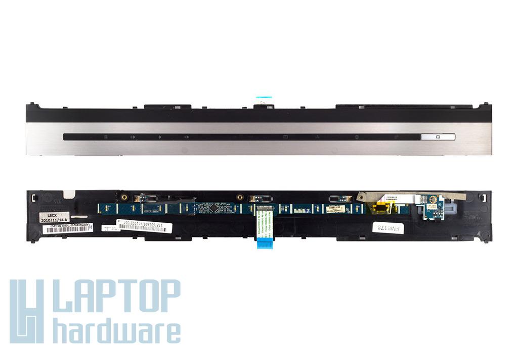 HP Elitebook 8540p laptophoz használt bekapcsoló panel fedél bekapcsoló és audió panellel,  AP07G000200