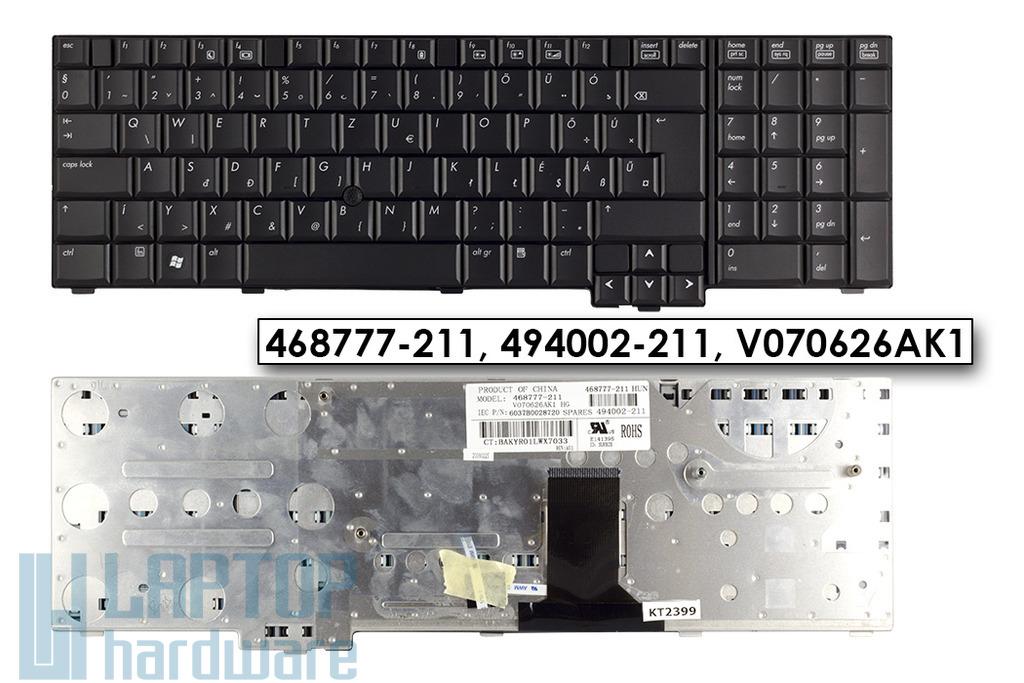 HP EliteBook 8730w gyári új magyar laptop billentyűzet (494002-211)