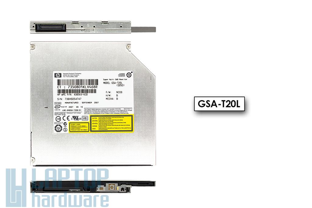 Hitachi GSA-T20L használt IDE (PATA) DVD író
