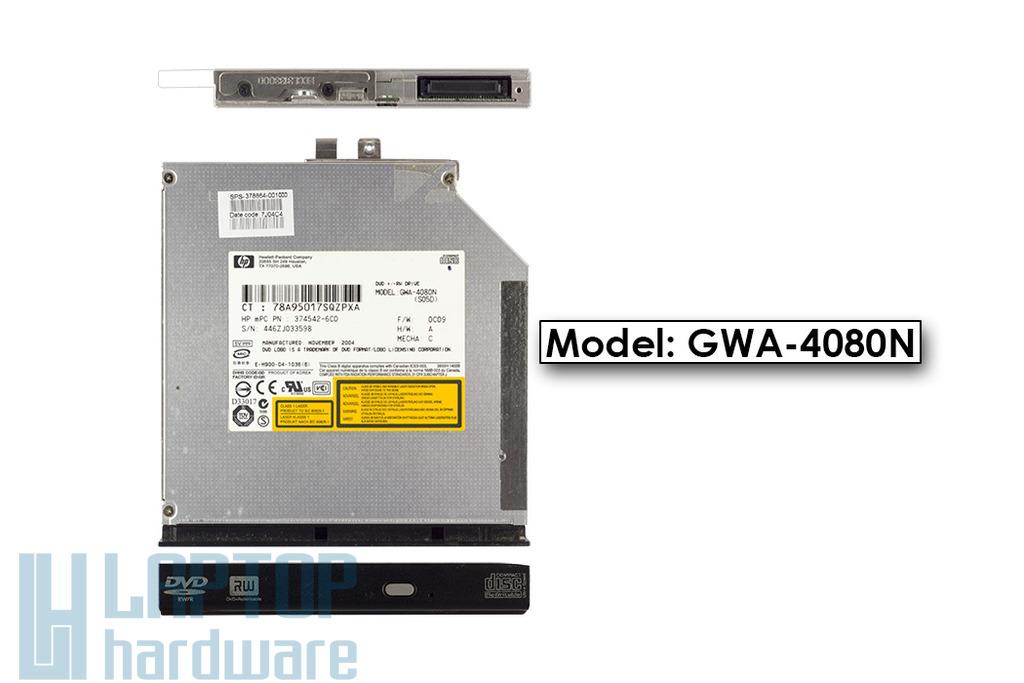 HP IDE (PATA) használt laptop DVD-író (GwA-4080N)