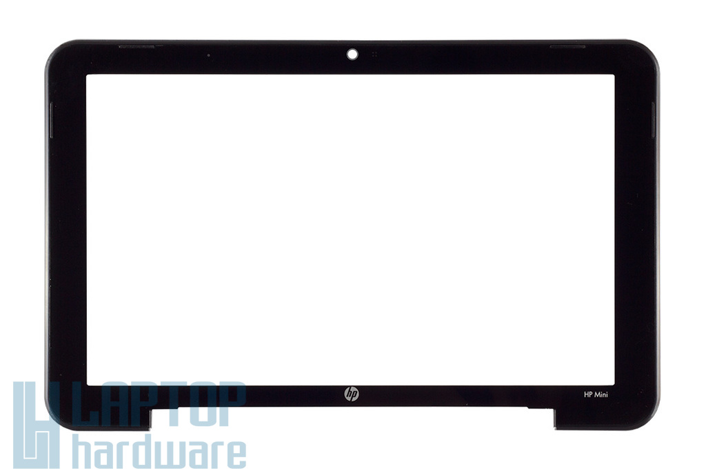 HP Mini 1000 gyári új LCD kijelző keret és plexi előlap (507310-001, 6070B0307201 A01)