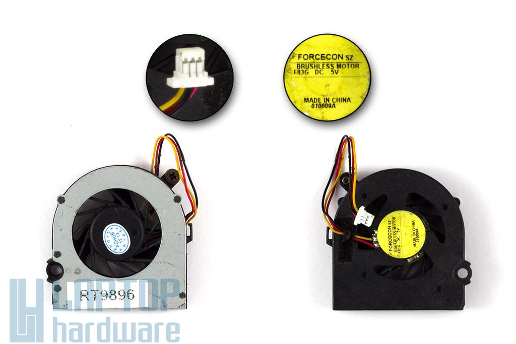 HP Mini 110, 110-1000, CQ10 használt laptop hűtő ventilátor (DFS400805L10T)
