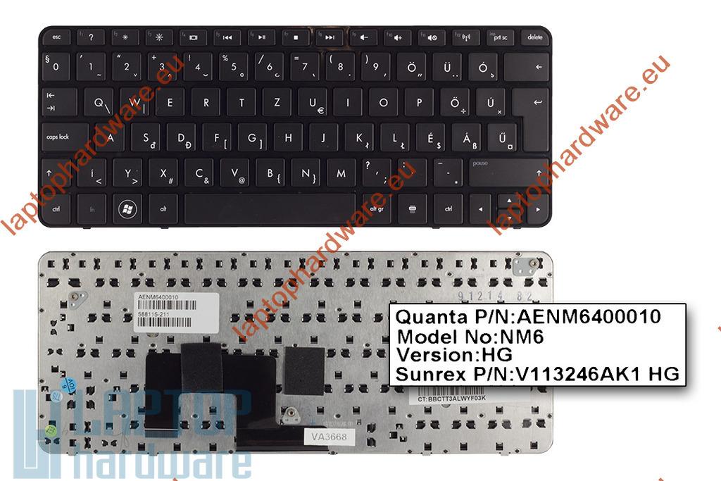 HP Mini 210-1000 használt magyar netbook billentyűzet (SPS 588115-211)