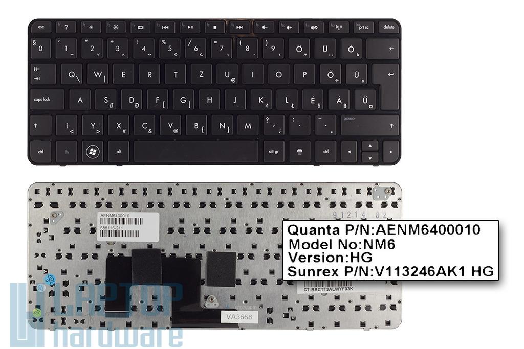 HP Mini 210-1000 gyári új magyar netbook billentyűzet (SPS 588115-211)