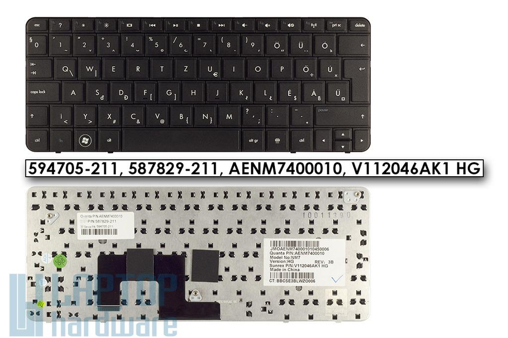 HP Mini 210-1000 gyári új magyar netbook billentyűzet (SPS 594705-211)